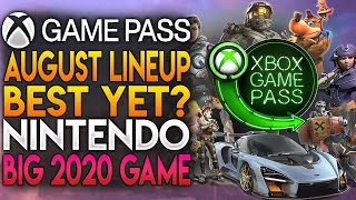 Xbox Game Pass August Lineup May Be Best Yet & Nintendo Finally Announces New 2020 Game | News Dose