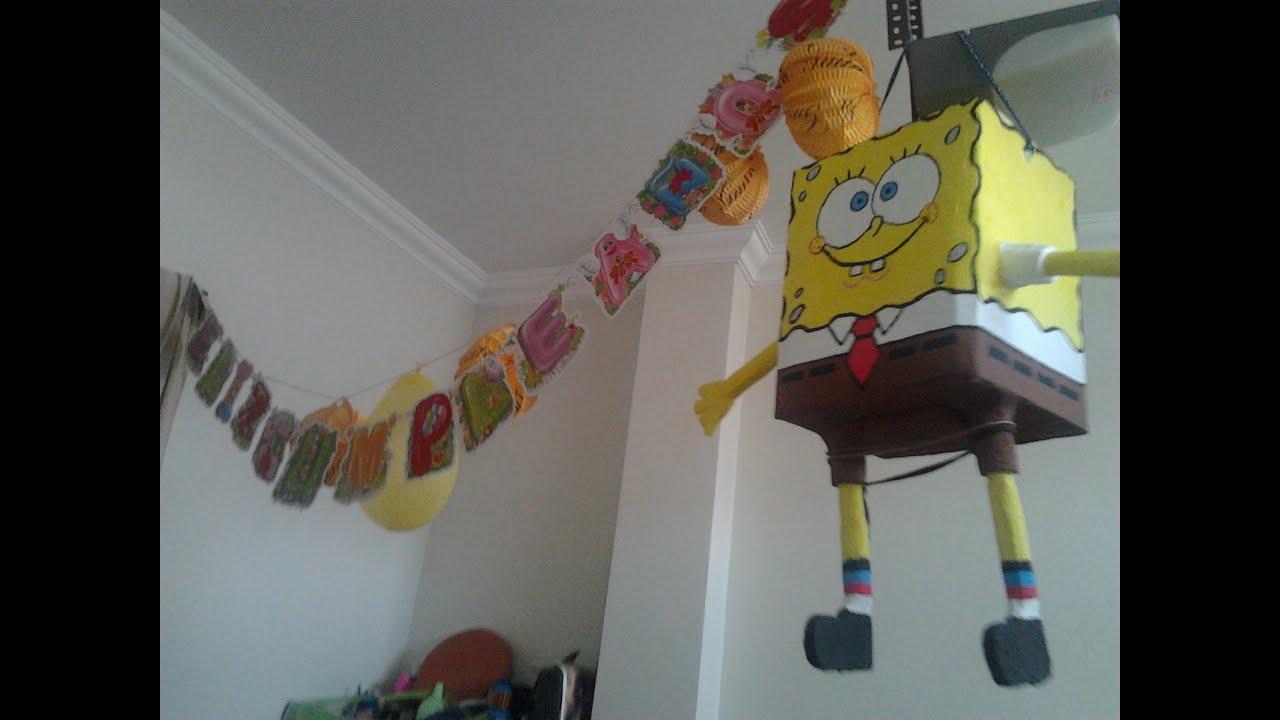 Piñata De Bob Esponja Youtube
