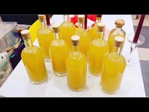 Лимончелло, рецепт лимонной настойки с самогона в домашних условиях