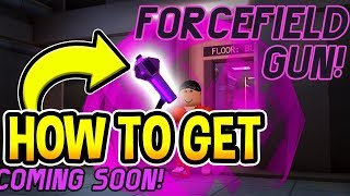 HOW TO GET FORCEFIELD GUN In Jailbreak (Roblox)