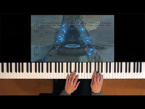 Zelda Breath of the Wild Story trailer piano + sheet music