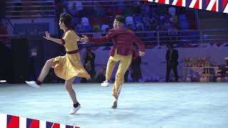 19/05/2018 Чемпионат Европы по акробатическому рок-н-роллу
