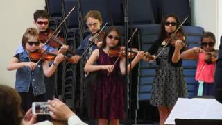 "Oak Hill Strings Recital 2017"" Bad Romance"" By Lady Gaga"