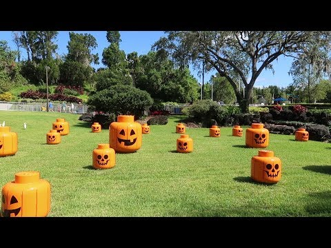 Brick or Treat Celebration At Legoland Florida | Treat Trail, Special Snacks & More Halloween Fun!