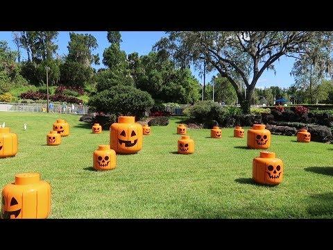 Brick or Treat Celebration At Legoland Florida | Treat Trail, Special Snacks & More Halloween Fun!