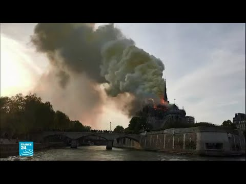كاتدرائية نوتردام العريقة... سكان الحي يتذكرون يوم الحريق الضخم