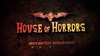 Craig Conway from THE DESCENT and DOOMSDAY is coming to the House of Horrors!