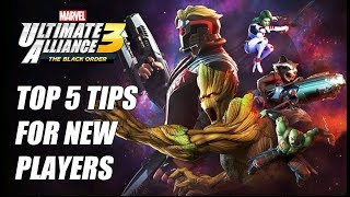 Top 5 Tips For New Players   Marvel Ultimate Alliance 3 MUA3