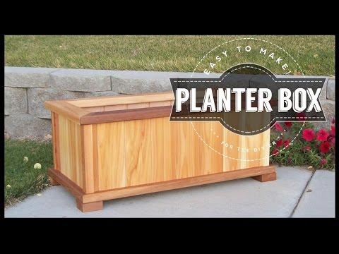 How To Build A Planter Box | DIY Easy To Make