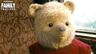"""CHRISTOPHER ROBIN   """"Latest Adventure"""" Extended Trailer - Disney Live-Action Family Movie"""