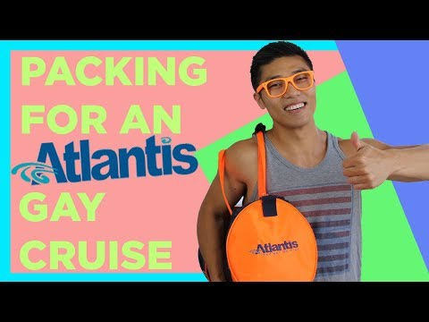 What To Pack for an Atlantis Gay Cruise || Gay Cruise Tips