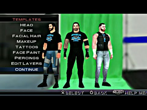 WWE 2K19 THE SHIELD TEXTURE FOR SVR 2011 BY SVR TECHNICAL