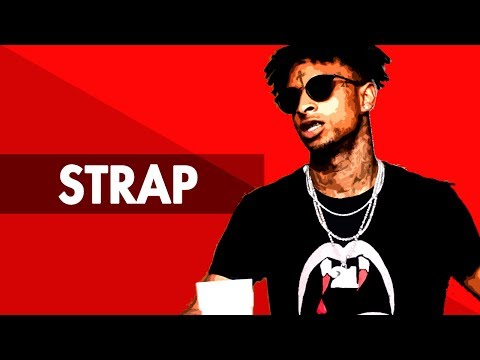 """STRAP"" Dark Trap Beat Instrumental 2017 | Hard Dope Rap Hiphop Freestyle Trap Type Beat | Free DL"