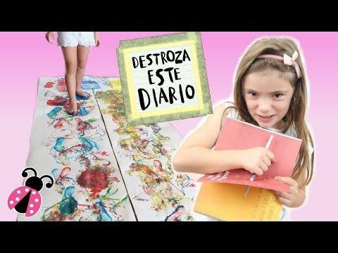 Destroza este diario conmigo + Reto / Los juguetes de Arantxa