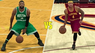 Kyrie Irving Traded For Isaiah Thomas 1v1! First To 50 Points! NBA 2K17 Gameplay!