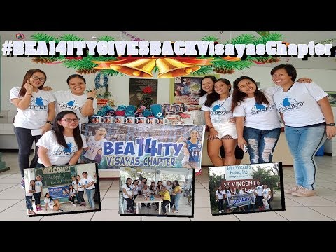 BEA14ITY Gives Back (Visayas Chapter)