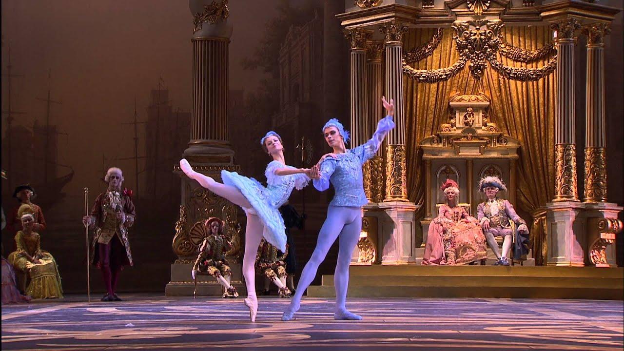 """Ballet Belle Au Bois Dormant - LA BELLE AU BOIS DORMANT Extrait ACT II""""L'Oiseau Bleu"""" Ballet du Bolcho u00ef au cinéma YouTube"""