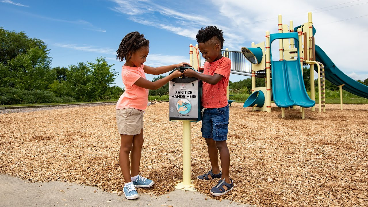 Hand Sanitizer Station - Play Healthy™ - Landscape Structures