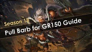 Diablo 3 Season 18 Meta Pull Barb Guide