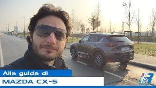 Prova su strada Mazda CX-5 - test drive