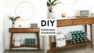 DIY ROOM MAKEOVER | MINIMAL ENTRYWAY ROOM DECOR IDEAS 2018