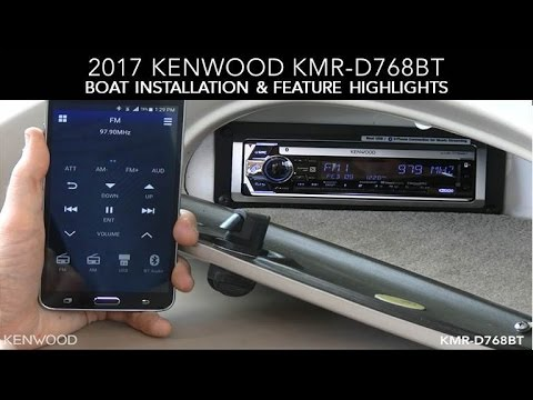 hqdefault kenwood kmr d768bt 2017 boat installation & feature highlights  at creativeand.co
