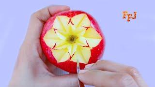 Cover images 5 Beautiful Fruit Arts & Tricks   DIY Fruit Slice, Cut, Carve, Decor, Design