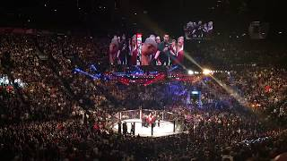 Conor McGregor knocks out Jose Aldo in 13 Seconds UFC 194 From the Crowd with reaction