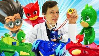 Герои в Масках и Доктор Ой Все серии. Игры для детей