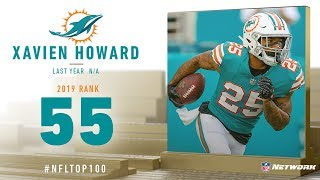 #55: Xavien Howard (CB, Dolphins) | Top 100 Players of 2019 | NFL