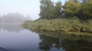 Прогулка на баркасе. Пудова протока. Херсон. Сентябрьский туман.