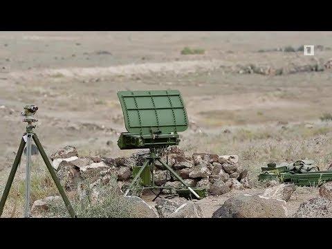 Армянская Армия.РЛС  1Л271 Аистенок /Armenian Army.1L271 Aistenok.Portable Mortar Locating Radar