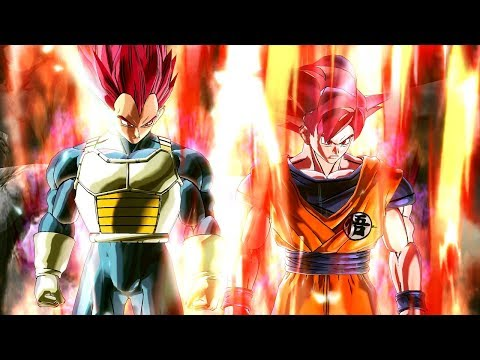 New Goku & Vegeta Custom God Transformation in Dragon Ball Xenoverse 2 Mods