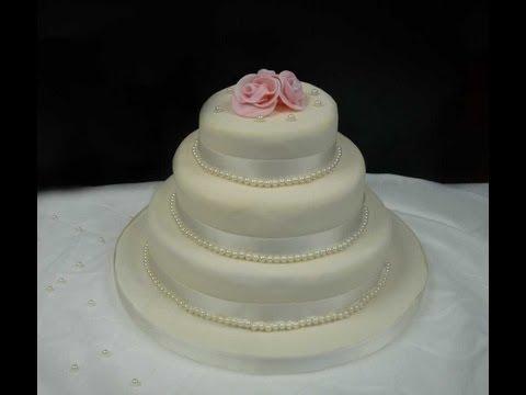 3-stöckige Hochzeitstorte selber machen/ How to make a 3-Tier Wedding Cake