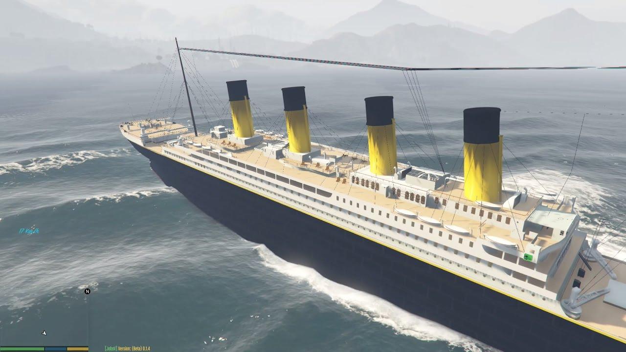 GTA 5 RMS Titanic Mod – Tìm thấy tàu bí ẩn Titanic trong GTA 5