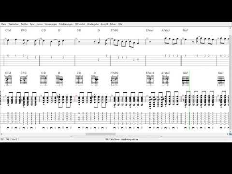 Carly Simon  -  You Belong to me  - Tabs
