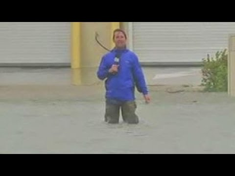 Hurricane Irma floodwaters rising in Miami
