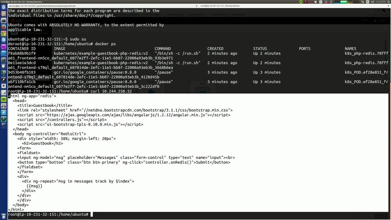 Launch the newly released kubernetes 1 0 0 with Juju | Ubuntu