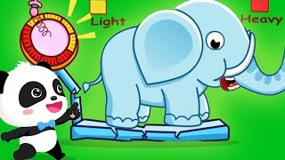 Baby Learn Antonyms - Baby Panda Play With The Opposite Words - Educational Children Game