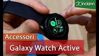 Samsung Galaxy Watch Active: considerazioni ed installazione protezione display in poliuretano