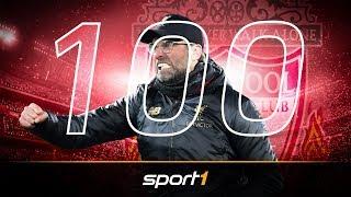 100. Sieg! So macht sich Klopp in Liverpool unsterblich | SPORT1