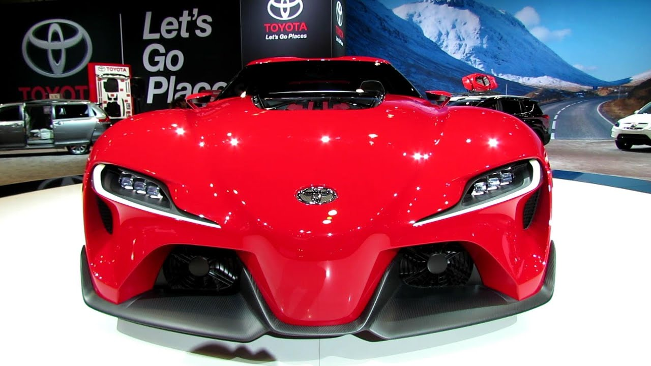 Nissan Los Angeles >> 2015 Toyota FT1 - Exterior Walkaround - 2014 Chicago Auto Show - YouTube
