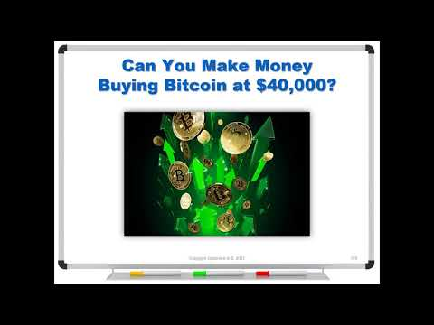 Can You Make Money Buying Bitcoin at $40,000?