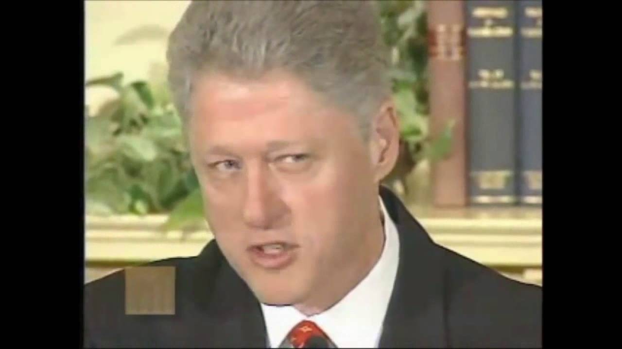Clinton i did not have sex with that woman