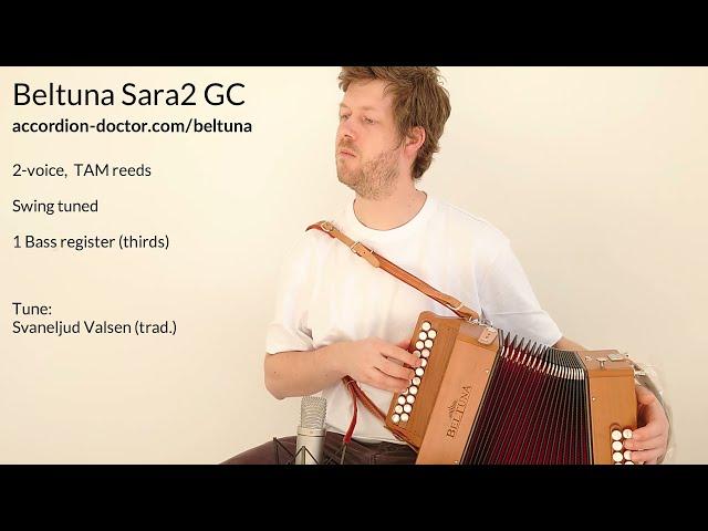 For Sale: New Beltuna Sara2 in GC - Svaneljud Valsen - Accordion Doctor