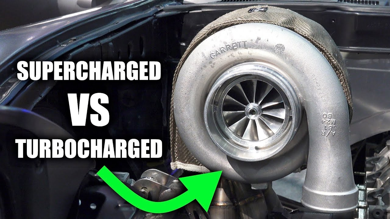 Superchargers Might Be Better Than Turbochargers
