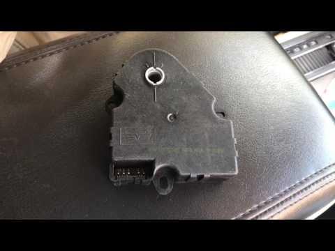 Traverse Hot Cold Blend Door Actuator Replacement