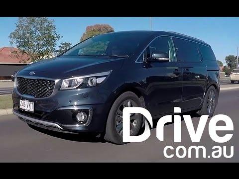Kia Carnival Platinum Diesel Review | Drive.com.au
