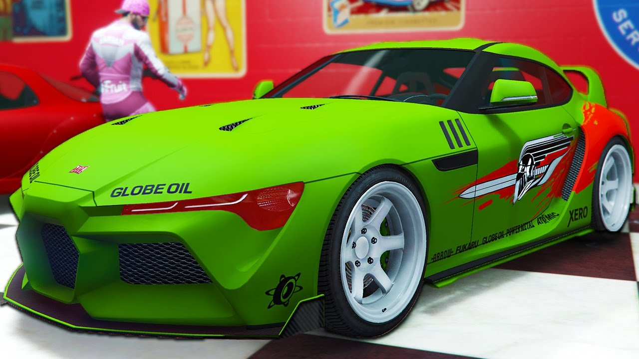 I Made The New Fast and Furious Supra - GTA Online Los Santos Tuners