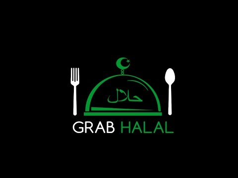 GrabHalal  - Halal Food Order - Delivery Online in Thailand - Intro in English